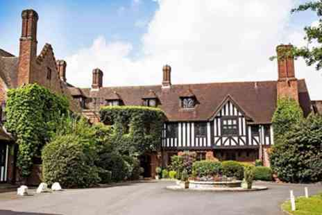 Hogarths Stone Manor Hotel - Worcestershire Manor Getaway with Dinner - Save 0%