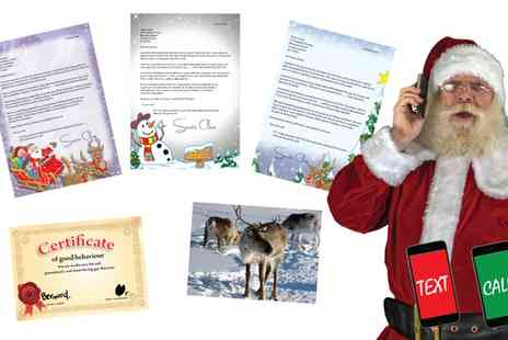 Santa Letters Direct - Personalised Letter From Santa with Extras - Save 50%
