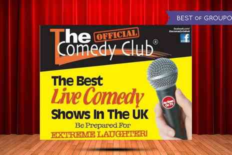 Greenhill Hotel - The Official Comedy Club Live Show with Buffet on 28 January To 25 November - Save 40%