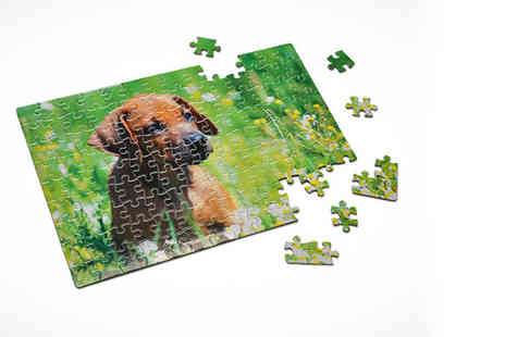 Photobook Shop - Personalised photograph jigsaw puzzle - Save 86%