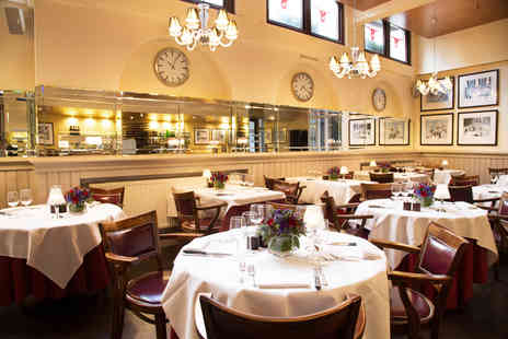 Marco Pierre White - Three course dining for two with a cocktail each - Save 50%
