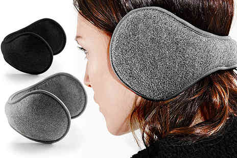 Treats on Trend - Pair of Suprafleece ear muffs choose from two colours  - Save 76%