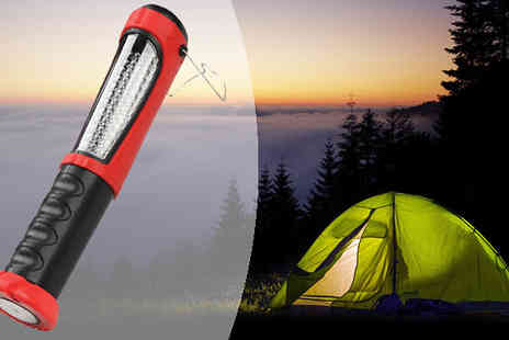 M&M Deals - Rechargeable LED Torch and Work Light - Save 0%