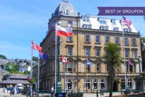 Royal Hotel - One or Two Nights Stay for Two with Breakfast, Dinner, Fizz, Tea or Coffee and Late Check Out - Save 54%