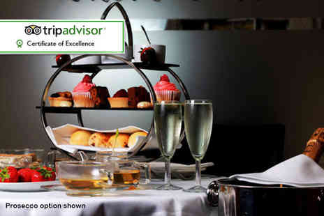 Number Twelve - Afternoon tea for two including a glass of Prosecco each - Save 62%