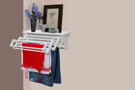 Eurotrade - Wall mounted laundry dryer - Save 29%