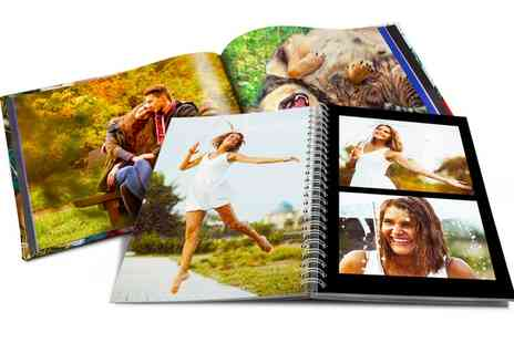 Printerpix - Spiral or Hardcover Photobook - Save 70%