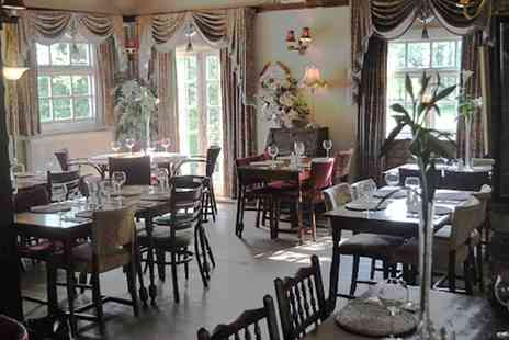 The Smoker Inn - Two Course Steak Meal with Wine for Two or Four - Save 54%