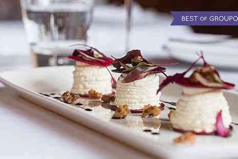 The Crazy Bear Group - Vegetarian Gourmet Menu with Champagne - Save 65%