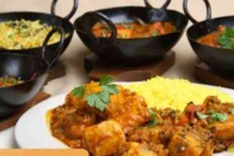 Spice Room - Indian Banquet with Four Starters and Four Mains to Share Between Two People - Save 63%