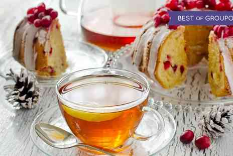 The Colonnade - Festive Afternoon Tea with Mulled Wine or Bubbly for Two or Four - Save 0%