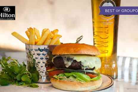 Podium Restaurant - Burger, Fries and Drink for Up to Four - Save 66%