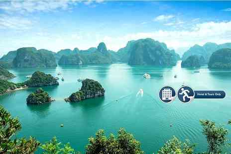 Go Asia Travel - 10 day Vietnam tour with 3, 4 or 5 Star accommodation - Save 69%