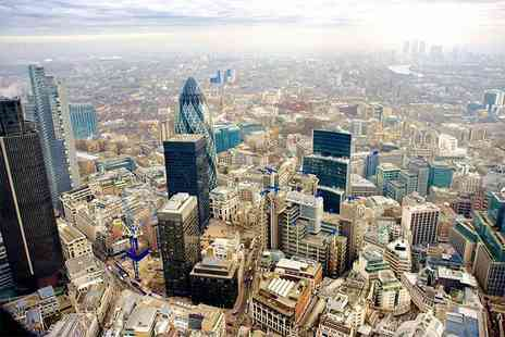 VVB Aviation - 30 minute London helicopter flying tour for one or two - Save 37%