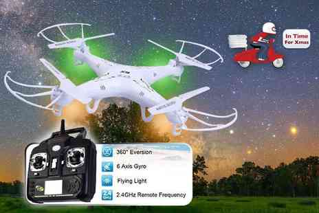 FDS Corporation - Syma X5 explorers quadcopter drone - Save 70%