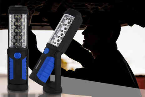 Shop Monk - 28 LED flat panel torch - Save 64%