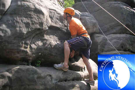 Extreme Ventures - Outdoor rock climbing experience for one or two - Save 67%