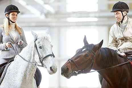 The Cabin Equestrian Centre - One Hour Long Horse Riding Lessons - Save 52%