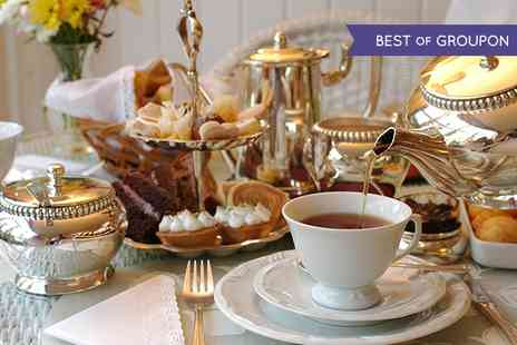 London Elizabeth Hotel - Festive Afternoon Tea with Mulled Wine or Bubbly for Two or Four - Save 0%