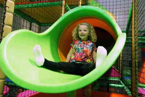 Crazy Club Soft Play Centre - Play Session with Squash Drinks for Up to Four Children - Save 61%