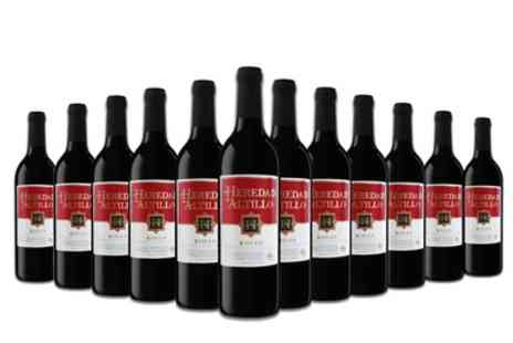 Karpe Deal - 12 Bottles of Spanish Rioja Heredad De Altillo Red Wine With Free Delivery - Save 45%