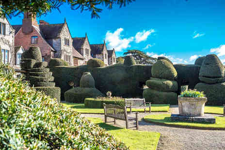 The Billesley Manor Hotel - Overnight stay for two people with dinner, breakfast, wine and late check out - Save 44%