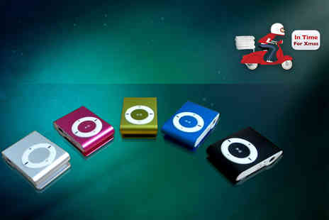 Wowcher Direct - Shuffling 8GB MP3 player  choose from four colours - Save 0%