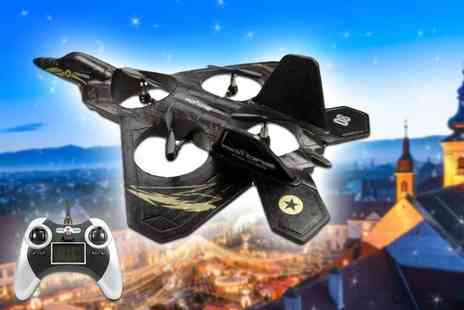 Comtech Logic - Rotorz RT08 predator F2 super fighter jet drone and remote control - Save 58%