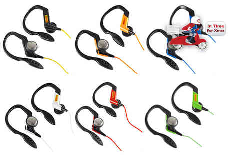 Ckent Ltd - Pair of Pirelli P zero sports headphones - Save 50%