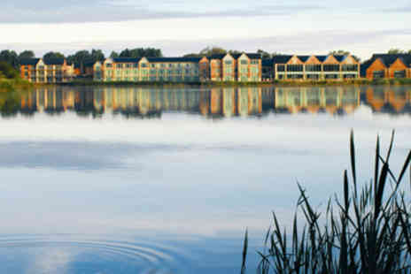 The Cotswold Water Park Hotel - Hotel Escape with Dinner for Two - Save 10%