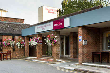 Mercure Maidstone Great Danes Hotel - Hotel Escape with Dinner for Two - Save 10%