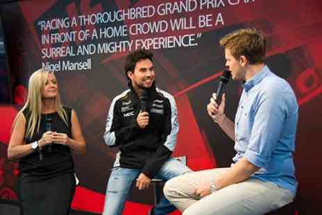 Silverstone - Qualifying Day ticket to 2017 Formula 1 British Grand Prix at Drivers Lounge Hospitality - Save 0%