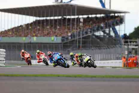 Silverstone - Qualifying Day ticket to 2017 MotoGP at Brooklands Riders Lounge Hospitality - Save 0%