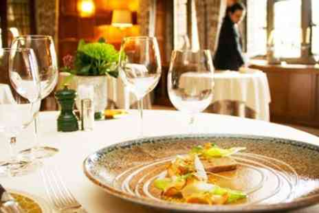Mallory Court Hotel - Tasting Menu Lunch & Champagne for 2 - Save 26%