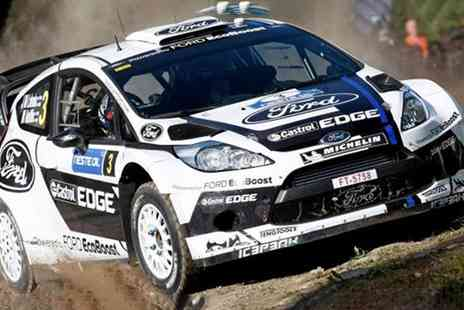 Kids Fiesta WRC Experience - Passenger Ride or Fiesta or Subaru WRC Driving Experience for Children - Save 15%