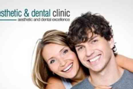 The Aesthetic Clinic - Clearstep Clear Braces on Top or Bottom Arch - Save 63%
