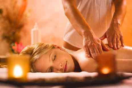 Divine Hair & Beauty - Choice of One Hour Hot Stone, Swedish or Back, Neck, Shoulder Massage - Save 47%
