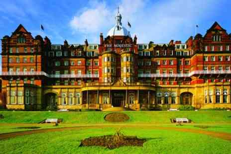 Majestic Hotel - Harrogate Stay for Two with Breakfast, Dinner, Wine And Leisure Access with Option for Tea - Save 0%