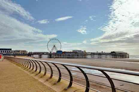 The Melville Hotel - Three night Christmas or New Years party package stay at a choice of two Blackpool hotels - Save 38%