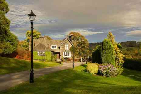 Broadoaks Country House - Overnight Lake District break including a four course dinner, breakfast, spa access and late check out - Save 42%
