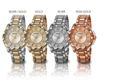 Buy Bay - Ladies August Steiner watch choose from four chic colours - Save 88%