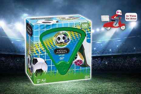 Linen Ideas - World football trivial pursuit game - Save 50%