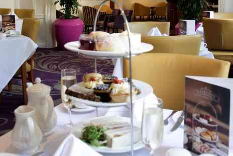 The Angel Hotel - Afternoon Tea for Two or Four with Optional Prosecco or Cocktails - Save 0%