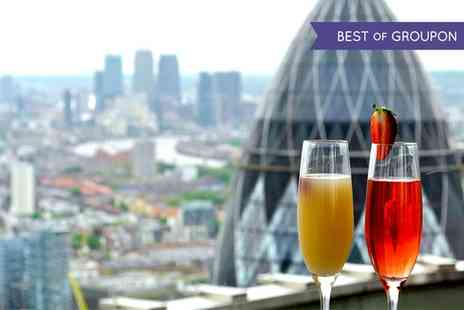 Vertigo - Panoramic Views, Champagne Cocktails and Sharing Platter for Two or Four - Save 47%
