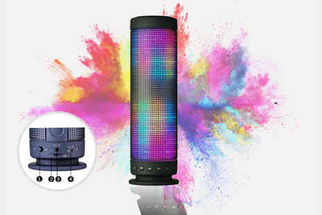 Zenith Wholesale - Portable LED Bluetooth speaker - Save 70%