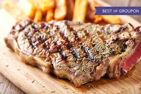 MPW Steakhouse Bar - Two Course Dinner for Two or Four - Save 48%