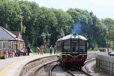 Ecclesbourne Valley Railway - One Day Peak District Train Tour for One, Two or a Family of Five - Save 38%
