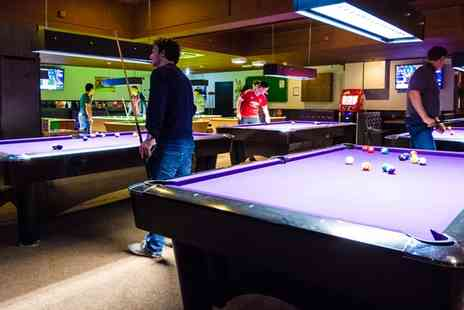 The Ball Room Sports Bar - Two Hours of Ping Pong, Snooker or Pool with Cheese Nachos Sharing Platter - Save 47%