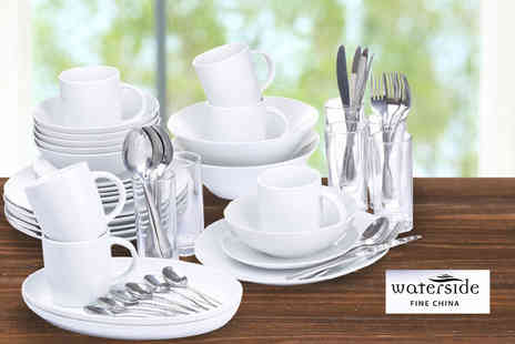 Dinner Warehouse - 58 piece fine dining set - Save 53%