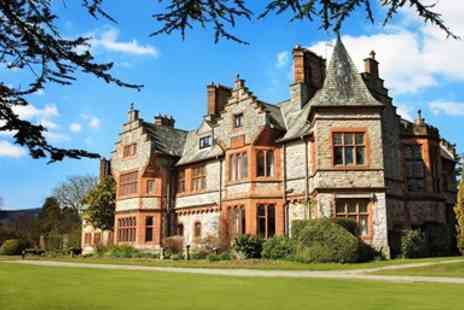 Caer Rhun Hall - Champagne Afternoon Tea for Two - Save 38%